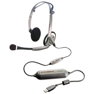 Plantronics DSP-400 Digitally-Enhanced USB Foldable Stereo Heads