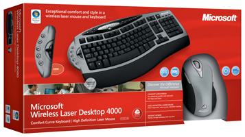 Microsoft Wireless Laser Desktop 4000 - 4GC-00002